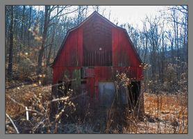 Red barn. L1000234, with story by harrietsfriend