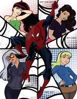 Ladies of the Web by crost92