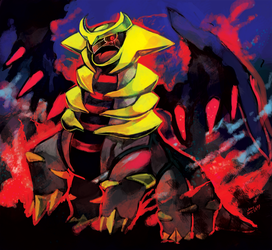 PKMN : Giratina by whitmoon