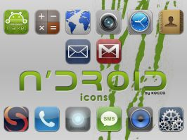 n'droid icons by kocco