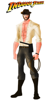 Indiana Jones by FIREARROW1