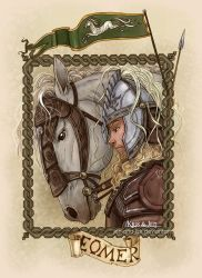 Eomer and Firefoot by jen-and-kris