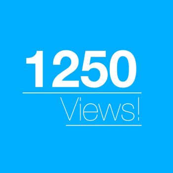 1250 Views! Thanks Everyone! by blenderednelb