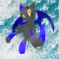 AT with KaylaTheCat98:Glow by Frozen-Iceblade