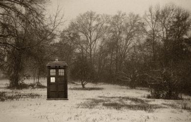 Doctor Who- Snow Softly Falls by Prof-Mrs-TheDoctor