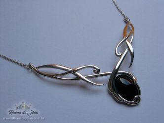 Onyx Necklace by raulsouza