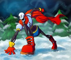 A wild Papyrus appears! by Thatoneartsyfart