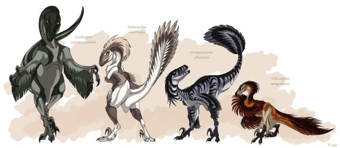 Feathered femme fatales by IsisMasshiro
