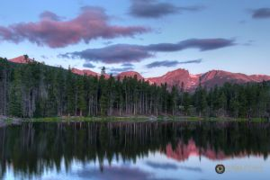 Sprague Lake at Dawn 6627 by pesterle