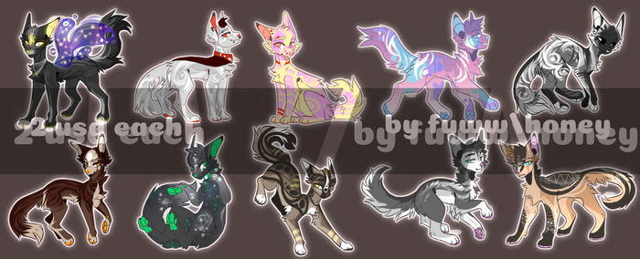 adoptables is open 1/10! by Fuww
