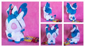 Shiny Sylveon Pokedoll by areica