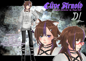 [MMD OC] Clive DL by Angie-Doll