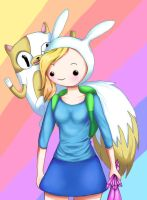 Fionna and cake by Lollypopp