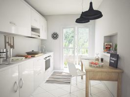 Kitchen V1 by kornny