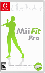 Mii Fit Pro | Nintendo Switch Concept Art by SupaBloopa