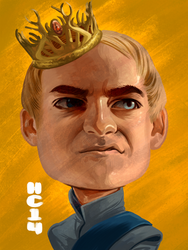 Joffrey Baratheon by hamdiggy