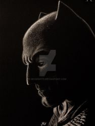 Drawing Batman by McGrafite
