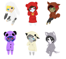 l + Little animal babus + l by Mintoria