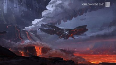 Childhoods End Concept Art 001 by alexson1