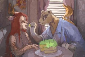 The cake is not a lie by bloodrizer