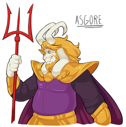 UT - Asgore by SimonSoys