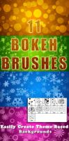 11 Bokeh Brushes by MrHighsky