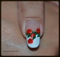 Red Roses by Gorgeousnails