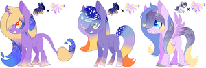 Kids for rainbowjellybutter [Closed] by CheshireGrinAdopts