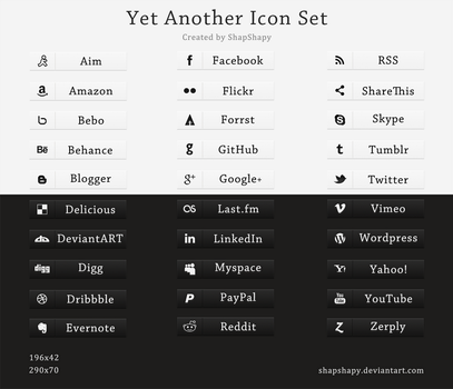 Yet Another Icon Set by shapshapy