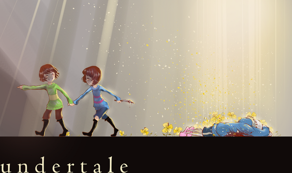 undertale genocide by Miriam-Moon