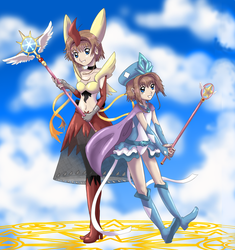 Card captors Sakuras by shinyscyther