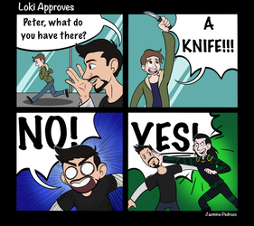 Loki Approves by WaterElement33