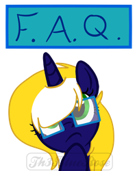 FAQ - Twitch Panel by Th3BlueRose