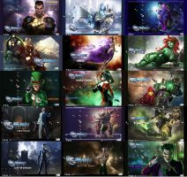 DCUO Villains PS3 Theme by Oxhine
