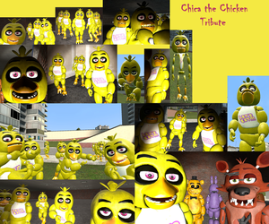 Gmod Pics-Chica the Chicken Tribute by 17chrisjenkins