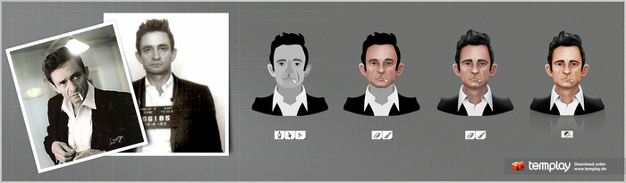 mini Making-of Cash-Fan-Icon by templay-team