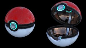 Pokeball study by Cuenk89