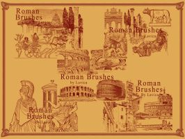 Roman Photoshop Brushes by Lavica-Photoshop