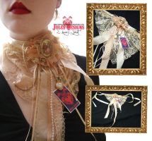 Emilie Autumn Inspired Jabot by fudgemallow