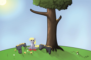 Derpy get's Pranked Part 2(Derpy Day) by Hovel