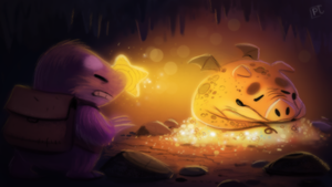 Daily Painting #719 - Color Script - Game Concept by Cryptid-Creations