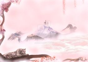 white tiger by florentinad