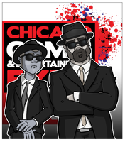 ZR does the Blues Brothers for c2e2 by ZombieRoomie