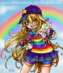 Super Rainbow Rolly by Rolly-Chan