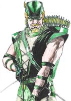 Green Arrow by lordtator