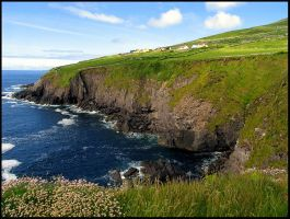 Ancient Irish Cliffs by parallel-pam