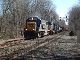 CSX SD50-2 #8502 by Tracksidegorilla1