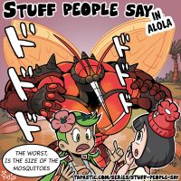 Stuff people say 254 by FlintofMother3