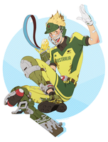 OW: cricket junkrat by Quere