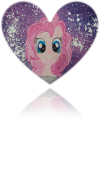 Pinkie Cosmos Heart by 24-1